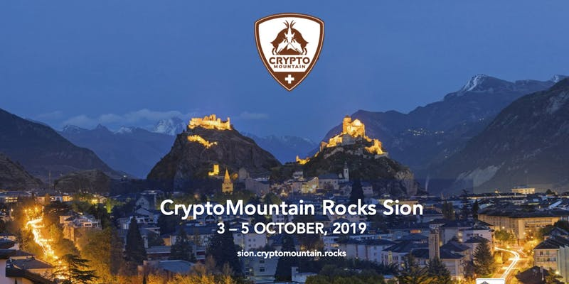 CryptoMountain Rocks in Sion 3-5 october 2019